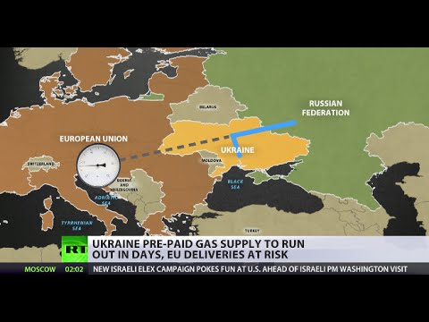 Putin slams Kiev for cutting off gas supplies to E. Ukraine