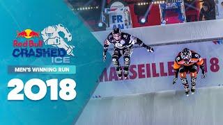 Who won Red Bull Crashed Ice 2018 France - Men's Winning Run.