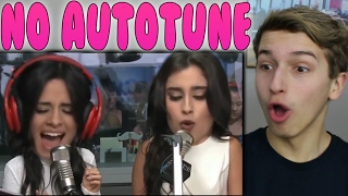 Download Lagu Fifth Harmony's REAL VOICE (WITHOUT AUTO-TUNE) Reaction Gratis STAFABAND