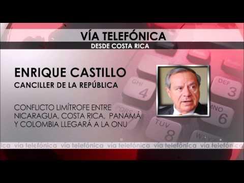 COSTA RICA, PANAMÁ Y COLOMBIA DENUNCIARÁN CONJUNTAMENTE A NICARAGUA ANTE ONU