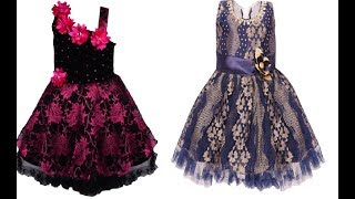Fancy Net Fabric Designer Baby Frocks || Princess Gown || Baby Frocks ||Toddler Gowns