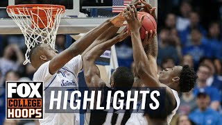 Romaro Gill goes off for 8 blocks, 17 points, 6 rebounds | FOX COLLEGE HOOPS HIGHLIGHTS