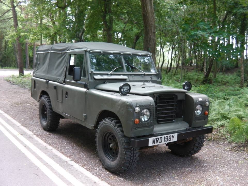 1983 Land Rover Series 3 109 2 25 Petrol Youtube
