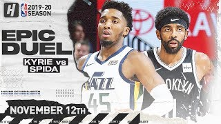 Kyrie Irving vs Donovan Mitchell EPIC DUEL Highlights (2019.11.12) - 27 Pts For Kyrie, 30 For Spida!
