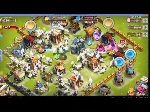 [Castle Clash] -Tips- How to get free 1,000+ Gems 30,000+ HB,100+ Shards!!