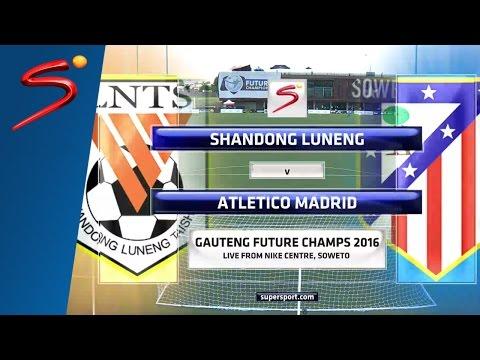 GFC U-17: Shandong Luneng vs Atlético de Madrid