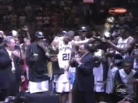 Tim Duncan's Near Quadruple Double in the 2003 NBA Finals (21pts, 20reb, 10ast, 8blk)