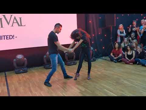 WZF2019: Aline & Michael in Saturday class demo ~ Zouk Soul