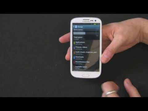 How To Format Your MicroSD Card On Your Samsung Galaxy S3 - Tutorial by Gazelle.com