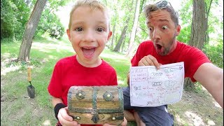 FATHER SON ADVENTURE TIME! / Buried Treasure!