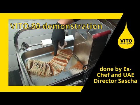 VITO® 80 Demonstration done by Ex-Chef and UAE Director Sascha