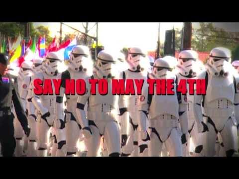 Star Wars Day Attack Ad: Say No to May the 4th