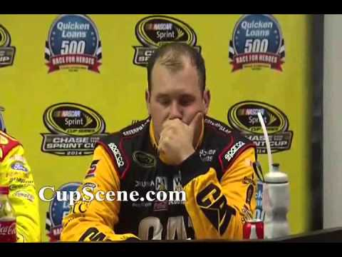 NASCAR at Phoenix International Raceway Nov. 2014: Hamlin, Logano, Newman