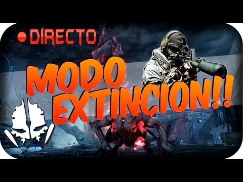 MODO EXTINCION MULTIJUGADOR COD : GHOSTS EN DIRECTO!! - Call Of Duty: GHOSTS