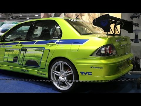 2 Fast 2 Furious Mitsubishi Evolution 7