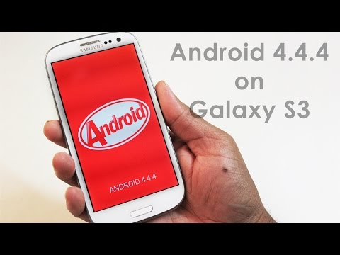 Android 4.4.4 KitKat on Samsung Galaxy S3 I9300