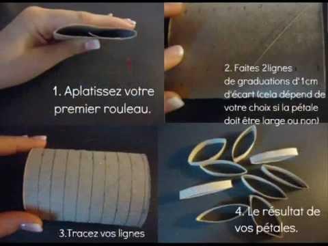 Comment cr er une cha ne de fleurs en papier youtube - Comment faire une armoire en papier ...