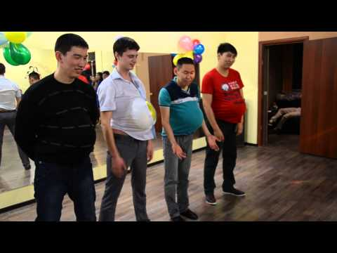 конкурс с шарами 23 февраля
