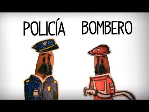 Las Profesiones, Vocabulario Español