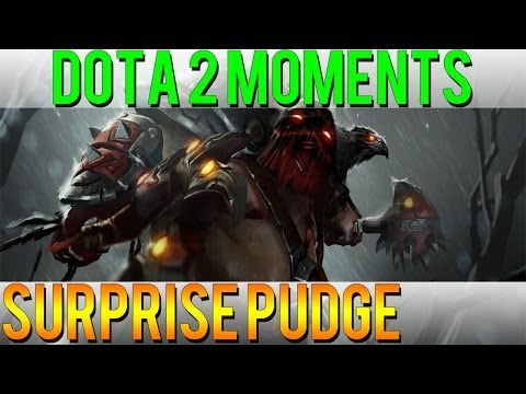 Dota 2 Moments - Surprise Pudge