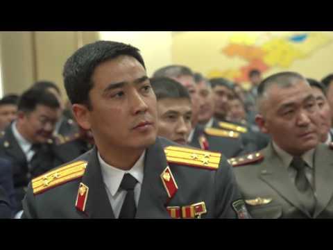 92-ая годовщина со дня образования кыргызской милиции.