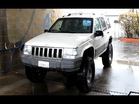 Jeep Grand Cherokee 4x4 ZJ Tips Joint Lubrication Squeaky Suspension Tire Pressure Handling Steering