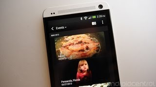 How to change event names in the HTC One gallery