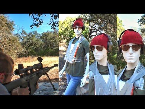 Останавливаем бронебойный .50 BMG   Разрушительное ранчо   Перевод Zёбры
