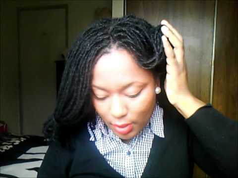 Sisterlocks- Victory Rolls/1940s Pin Up Styles.wmv