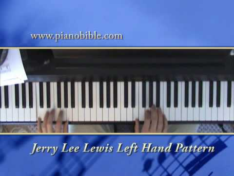 10 Standard Left Hand Patterns for piano Music Videos