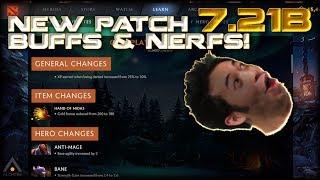 NEW Dota 2 Patch 7.21b: Buffs, Nerfs & First Impressions of the Meta