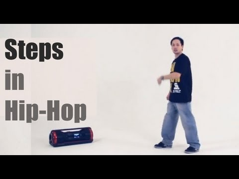 Обучение хип-хоп (hip hop dance tutorial). Шаги (steps) (самоучитель)
