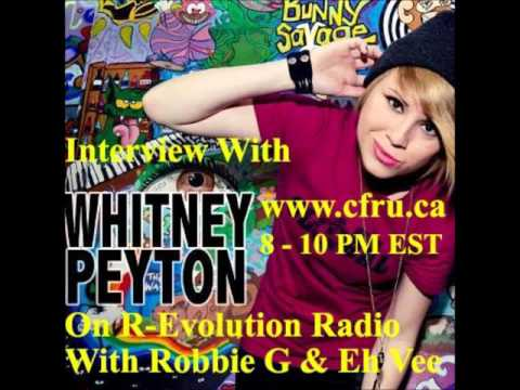 Whitney Peyton interview with Robbie G & Eh Vee R-Evolution Radio 2/3/16