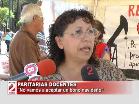 PARITARIAS DOCENTES, CRISTINA FOFFANI-TV DOS SALTA
