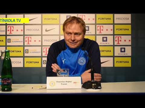 Tisková konference Stanislava Hejkala po pohárovém utkání v Liberci (30.10.2019)