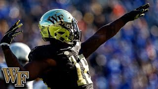 Wake Forest DE Carlos Basham Jr. Top Plays 2018
