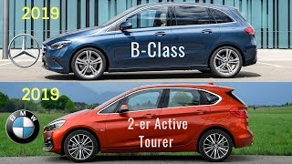 2019 Mercedes B-Class vs BMW 2 Series Active Tourer