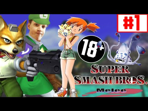 Misty Hentai Confirmed - Super Smash Bros Melee #1 video