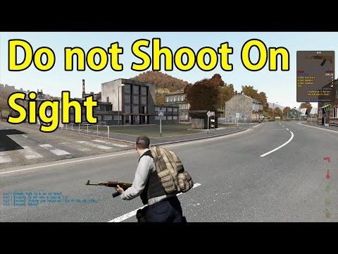 Do not Shoot On Sight - Arma 2 Dayz Mod
