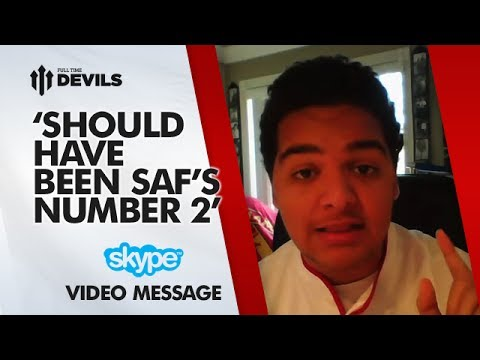 'Should Have Been SAF's No2!' | Manchester United 2-0 Swansea City | SKYPE FAN REVIEW