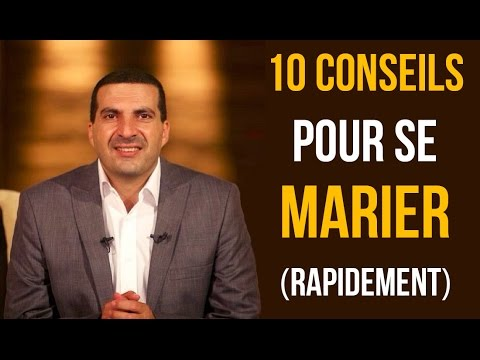10 conseils pour se marier (rapidement) - Dr. Amr Khaled