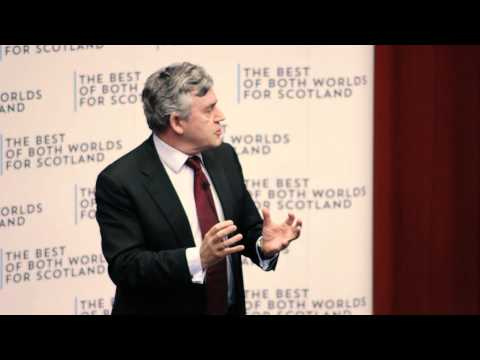Gordon Brown argues against Scottish independence: full speech at Academics Together