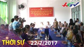 Lãnh đạo tỉnh thăm Mẹ Việt Nam anh hùng và gia đình chính sách | Thời sự Hậu Giang - 22/7/2017
