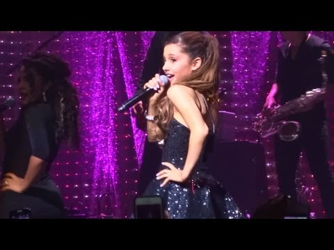 Ariana Grande - baby I And lovin' It (live In Los Angeles 9-9-13) video