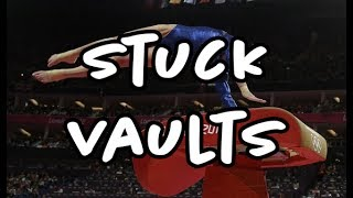 STUCK LANDINGS ON VAULT