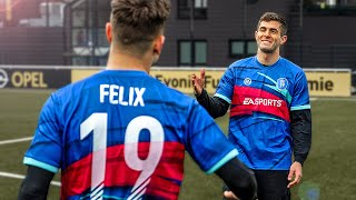 Christian Pulisic vs freekickerz - Fußball Challenge