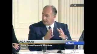His Highness The Aga Khan speaks at Culture and Diplomacy Conference(Washington,2000)