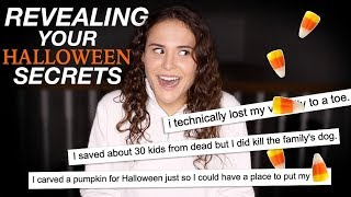 REVEALING YOUR HALLOWEEN SECRETS | AYYDUBS