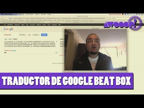 Traductor de Google BeatBox