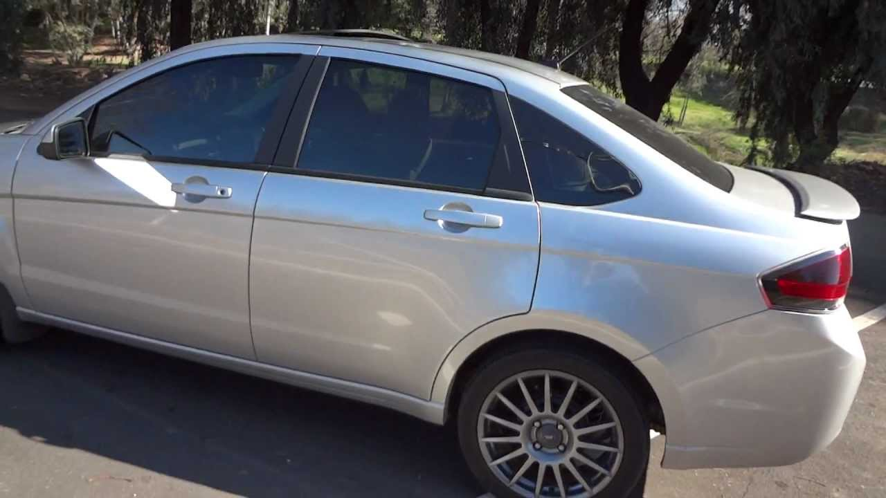2010 ford focus sedan ses walkaround and review with revs youtube. Black Bedroom Furniture Sets. Home Design Ideas